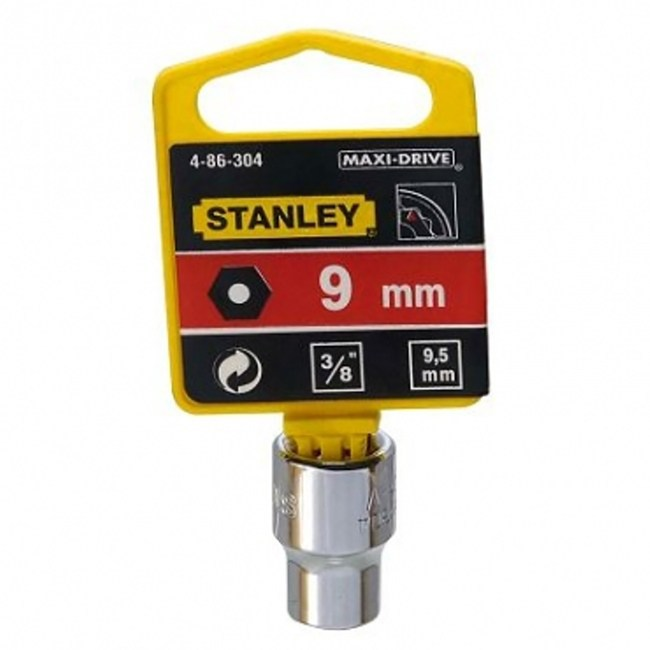 STANLEY套筒 3/8吋 X9mm