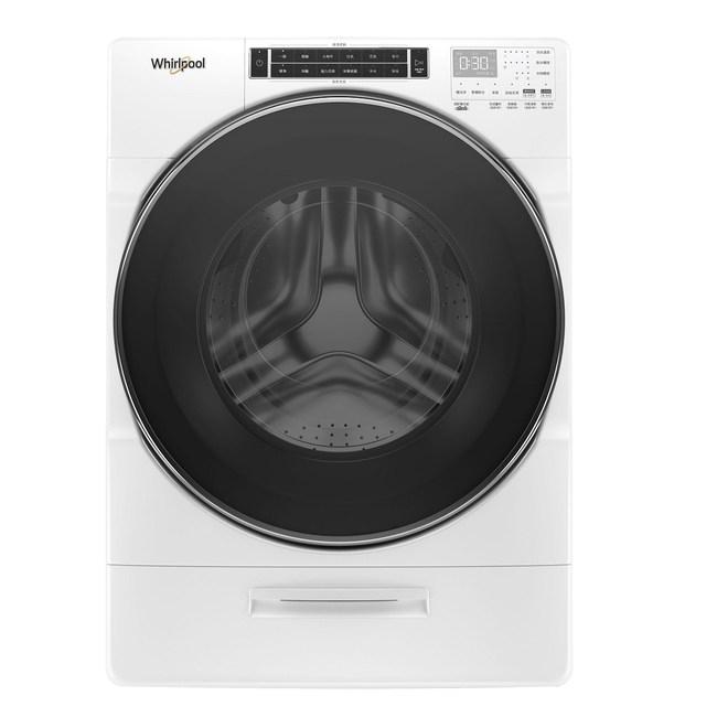 含標準安裝 惠而浦 17公斤 蒸氣洗滾筒洗衣機 8TWFW8620HW