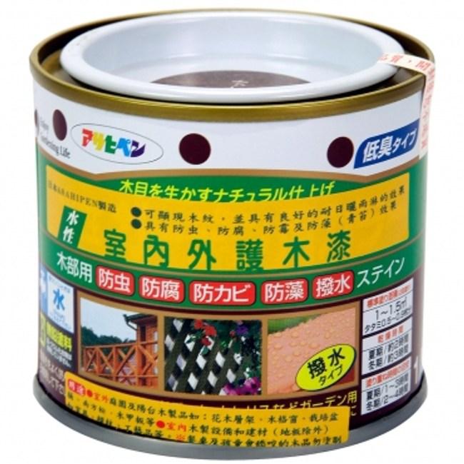 室內/庭園彩色護木漆(胡桃) 200ml