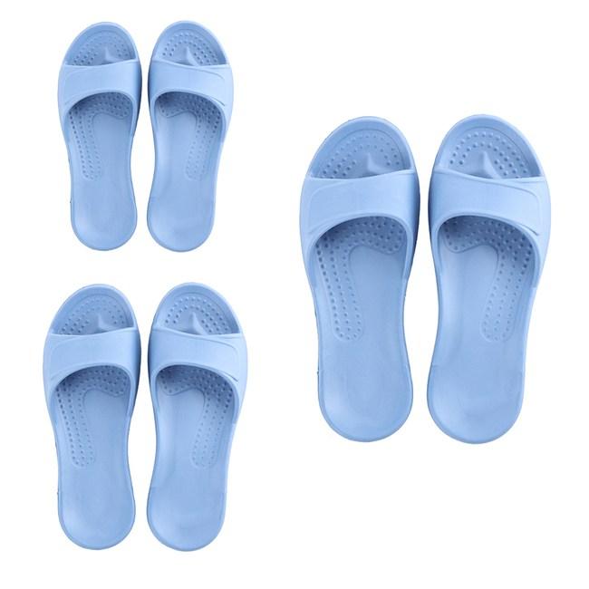 (組)EVA柔軟室內拖鞋 蒼藍 M.L.XL