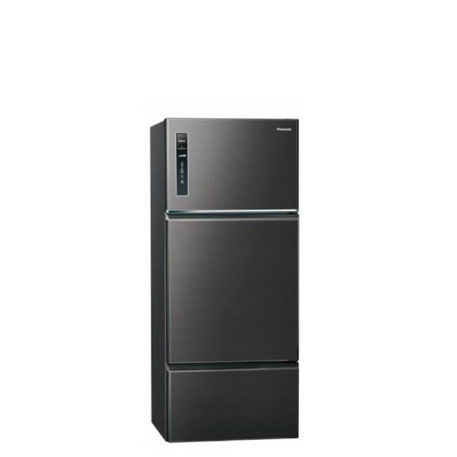 國際牌481公升三門變頻冰箱星耀黑NR-C489TV-A