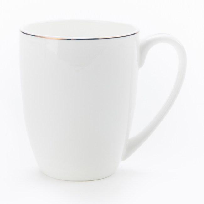 HOLA 緻金骨瓷馬克杯 線圈 可適用微波爐及洗碗機