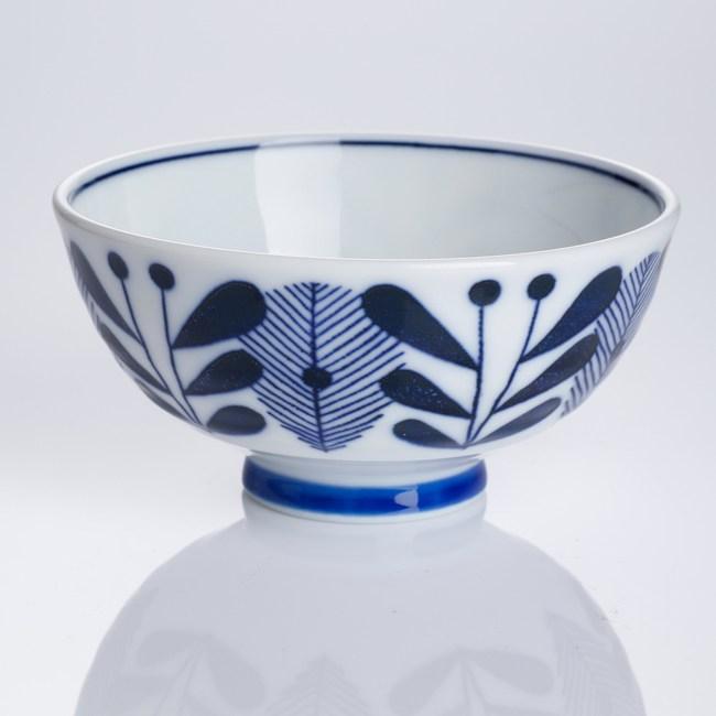 日本藍楓林輕量碗 4.5吋