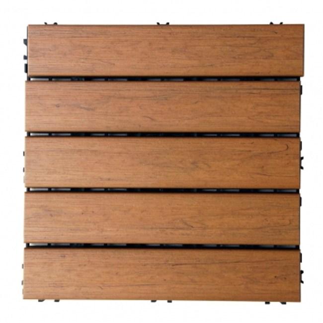 優森木DIY拆裝地板(柚木色)