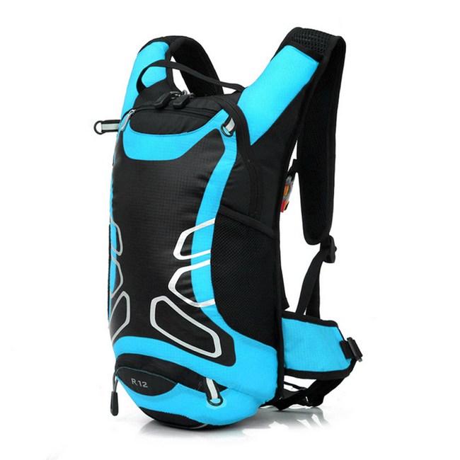 【PUSH!登山戶外用品】12L登山包背包旅行背包雙肩背包U40-1紅黑色