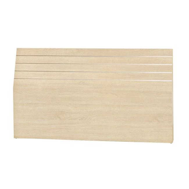 【YFS】奧斯維得5尺原切橡木四線床頭片-155x12x90cm