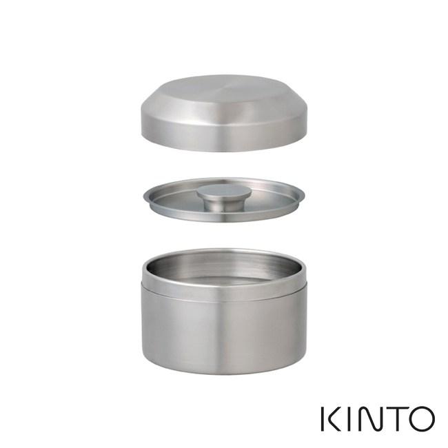 日本KINTO LT不銹鋼茶罐250ml