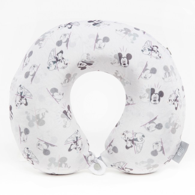 HOLA 米奇系列 記憶頸枕 淺米色款 MICKEY Walt Disney