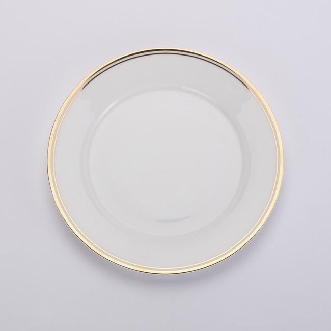 HOLA home 金弦骨瓷平盤20.5cm