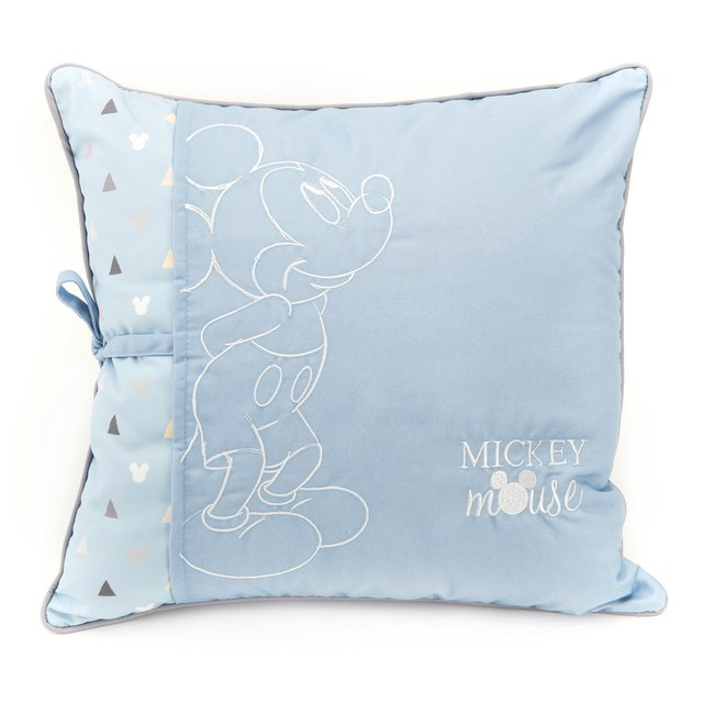 HOLA 米奇系列 雙層裝飾抱枕 45x45cm MICKEY Disney