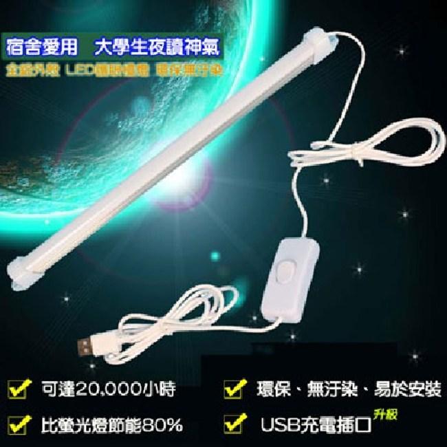 【易麗特】多用途護眼USB LED燈條(8入)
