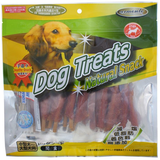 Dog Treats 潔牙系列 起司六角潔牙大棒棒腿 200G x 2包