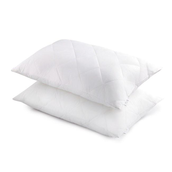 HOLA home 淨睡眠全效防蟎抗菌支撐型對枕