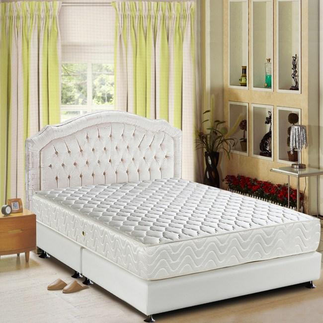 睡芝寶-3M防潑水+透氣涼蓆-健康護背床墊雙人5尺
