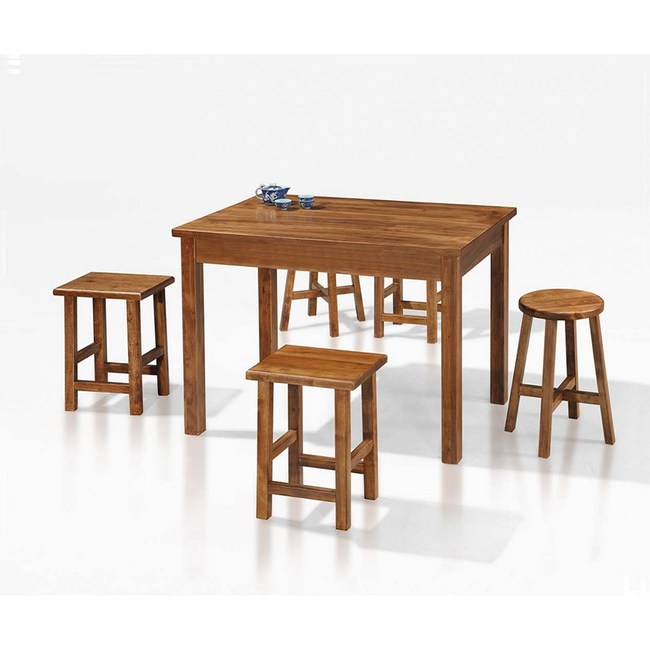 【obis】手工染色實木A6餐椅