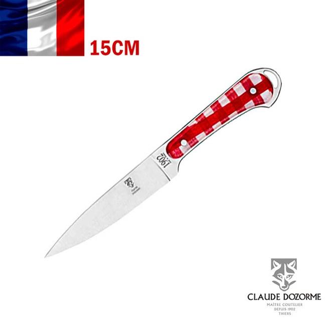 【Claude Dozorme】Vichy紅方格織布系列-切刀/雕刻刀