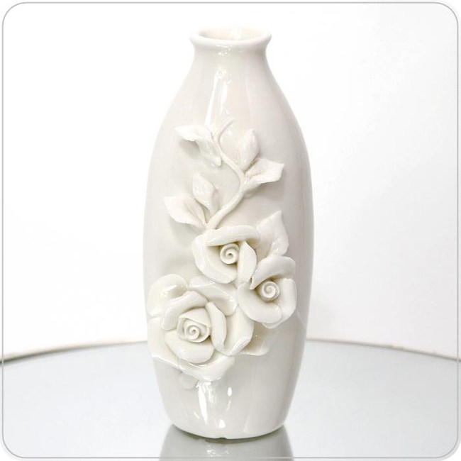 HONEY COMB 陶瓷迷你弧狀花器 FB157