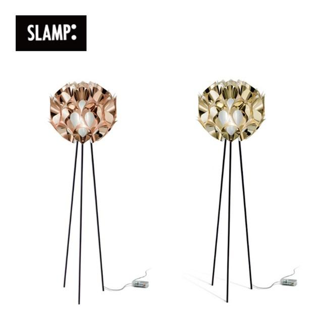 【SLAMP】FLORA 立燈(玫瑰金/金)金