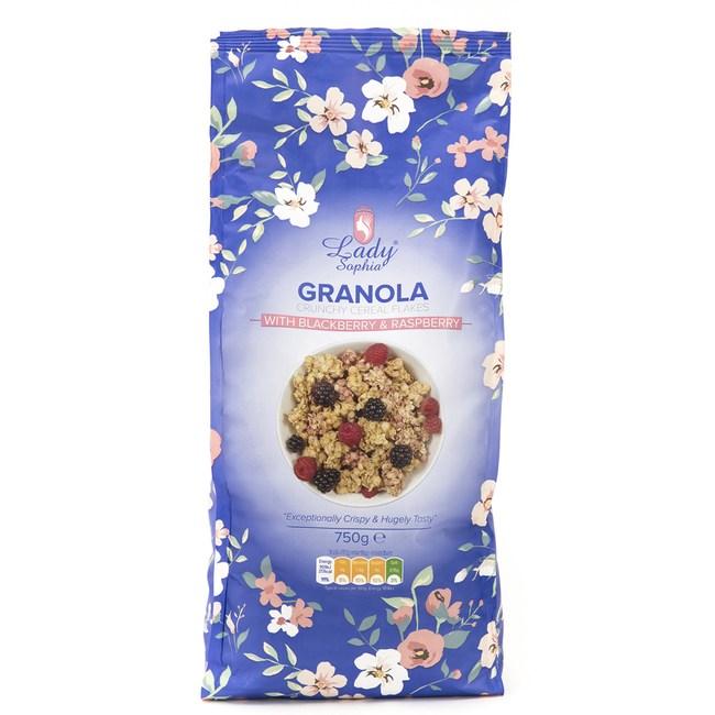 英國 蘇菲雅 穀物麥片 綜合莓果 750g