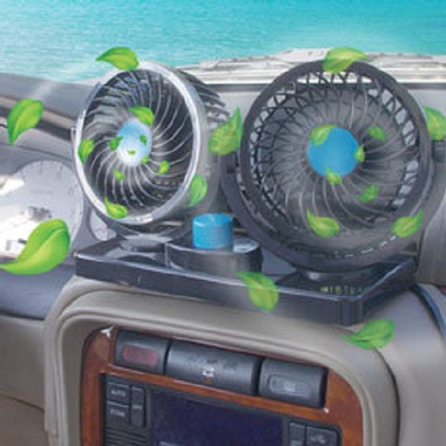 360度雙龍捲車用風扇(12V)