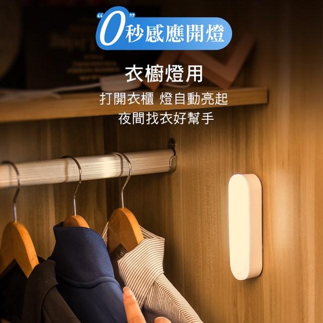 CS22 USB充電人體感應燈10CM10CM-白光