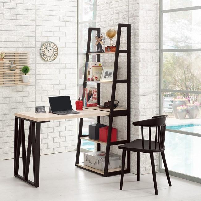 塔利斯4尺L型鐵架書桌