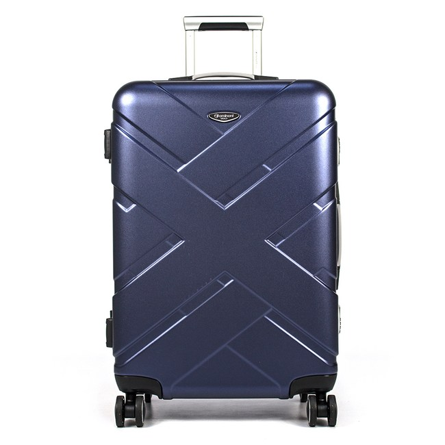 eminent 萬國通路 - 24吋 新美感設計師款行李箱 - URA新品藍
