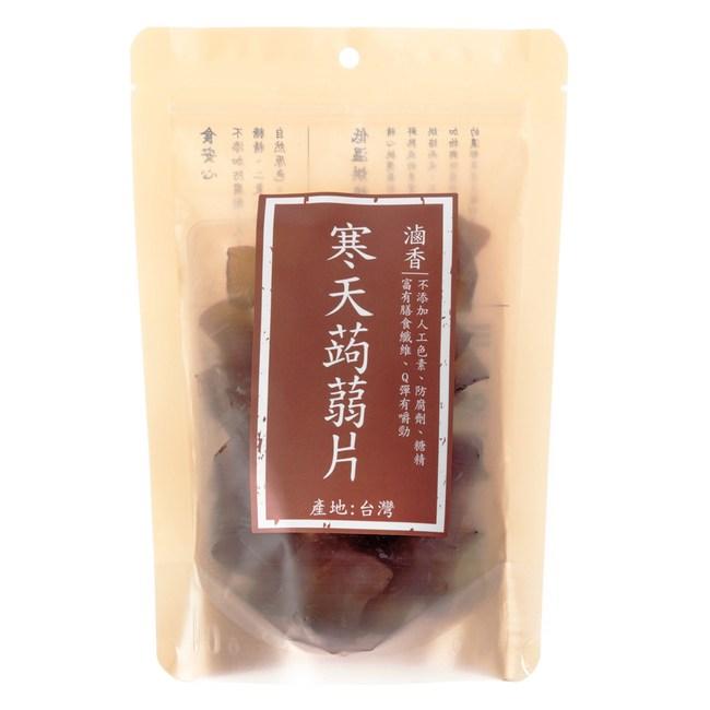 寒天蒟蒻片 滷香 175g 純素 在地鮮果乾
