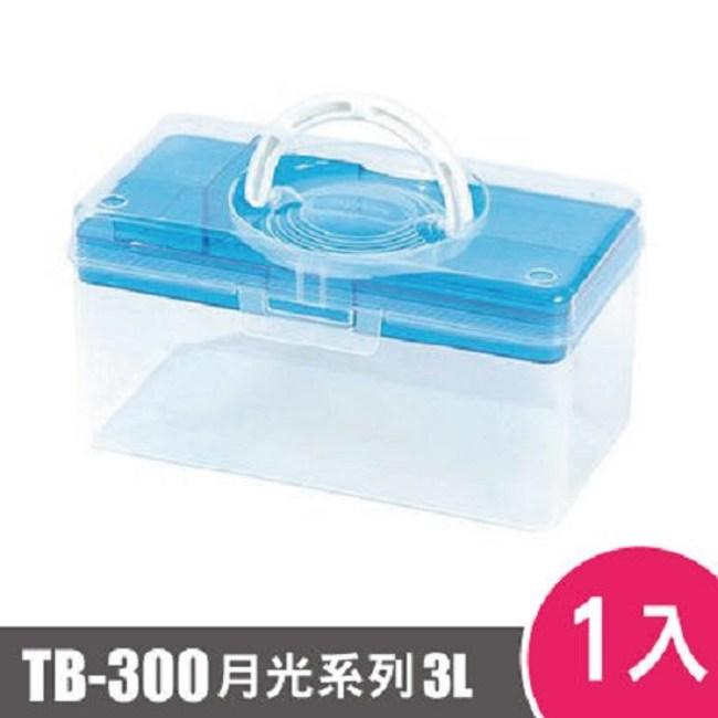 樹德SHUTER月光系列手提箱300型TB-300 1入 藍