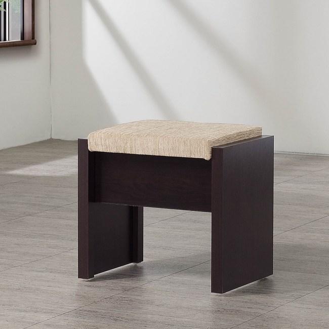 弗格森胡桃色化妝椅