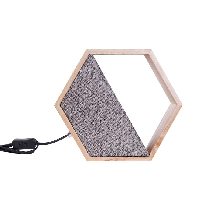 宮崎六角造型桌燈