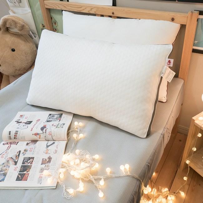 舒柔透氣 水洗枕【大】48cmX72cm台灣製 【可水洗機洗、超透氣不悶熱】