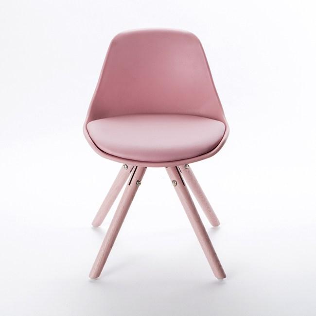 炫彩塑鋼椅 粉