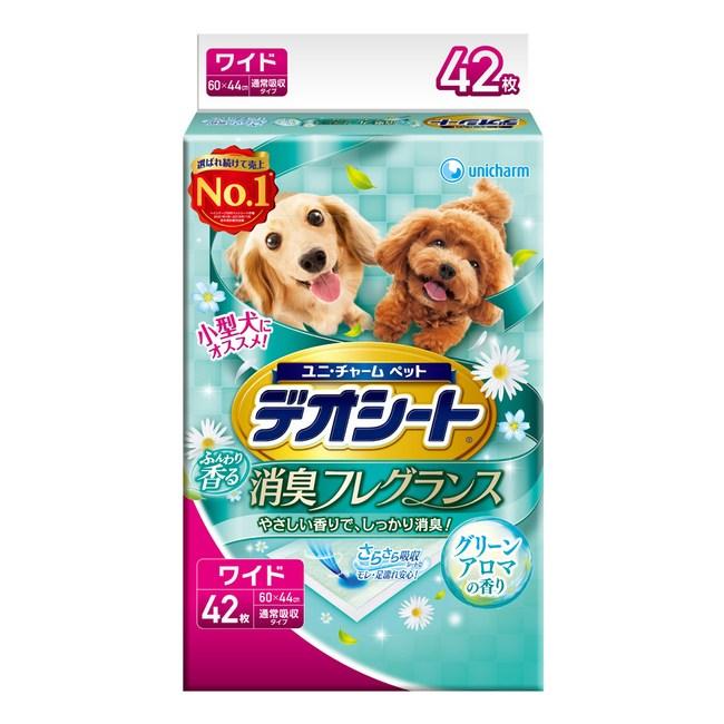 【日本Unicharm消臭大師】森林香狗尿墊(LL)(42片/包)