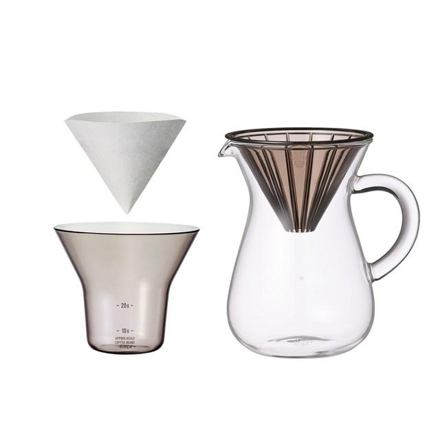 SCS手沖咖啡壺組300ml-濾紙型