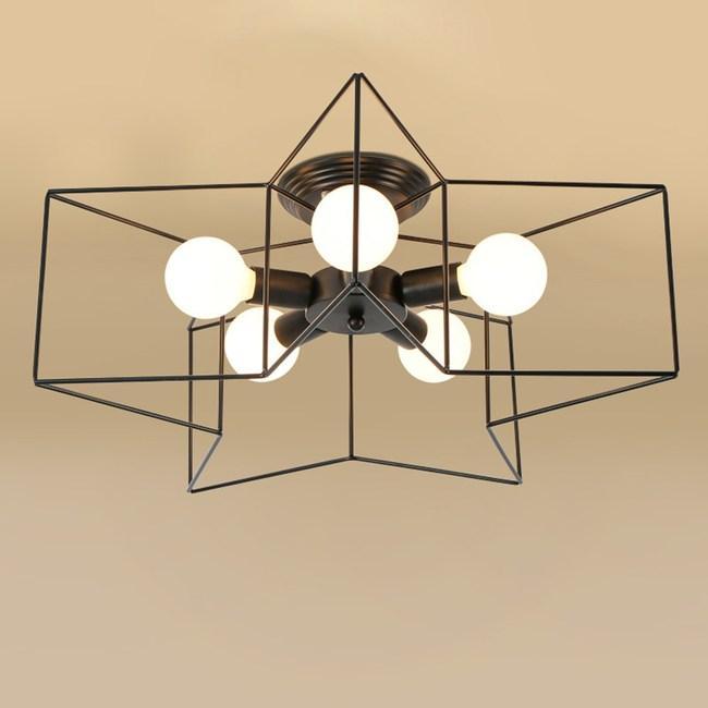 HONEY COMB 工業風星形創意五星吸頂燈 TA8209