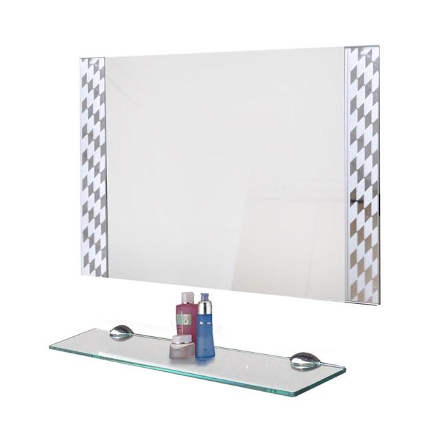 菱格噴砂防霧鏡-50x70cm(附平台)