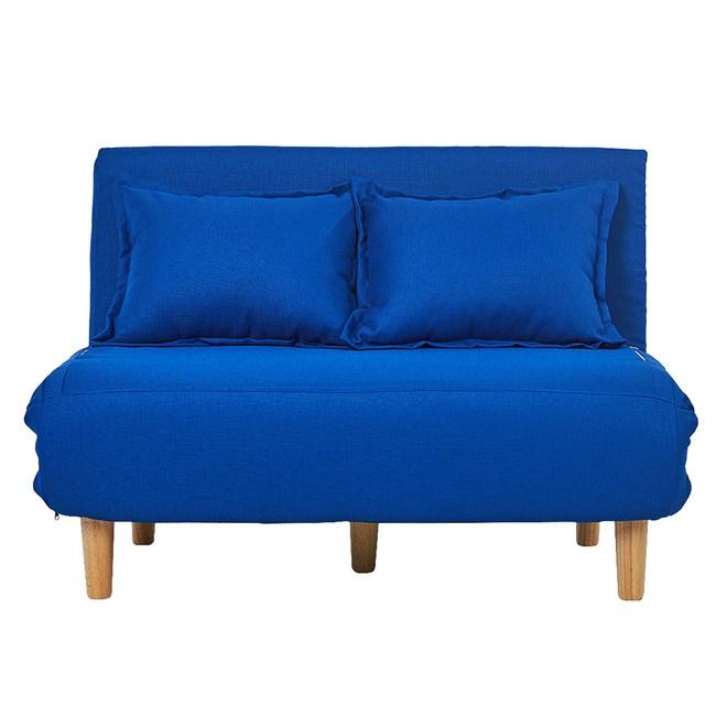 伊登 維克雙人折疊式沙發床椅(寶藍)
