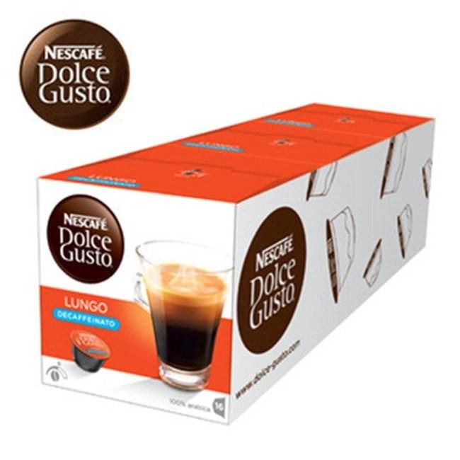雀巢 低咖啡因美式濃黑咖啡膠囊 (一條三盒入) 12409482