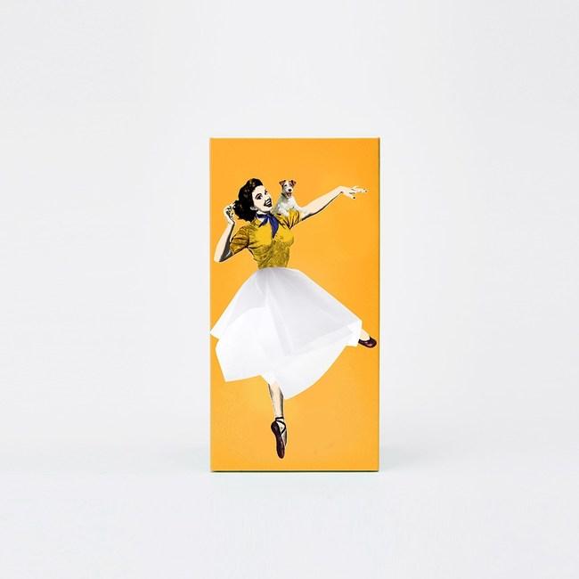 SPEXTRUM 蓬蓬裙女郎面紙盒(黃色)