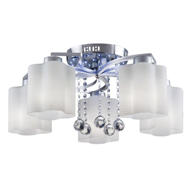 【大巨光】現代風5燈半吸頂燈-中(BM-20741)W600mmXH270mm