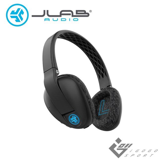 JLab Flex Sport 耳罩式藍牙耳機黑色