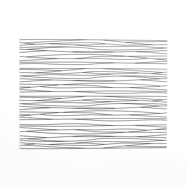 Matteo德國PVC餐墊30x40cm 細線白