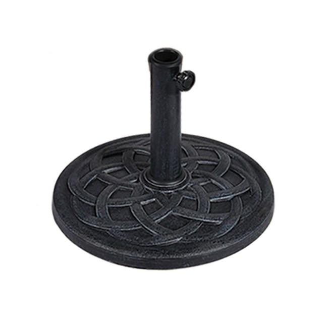 波利圓形樹脂傘座 9公斤