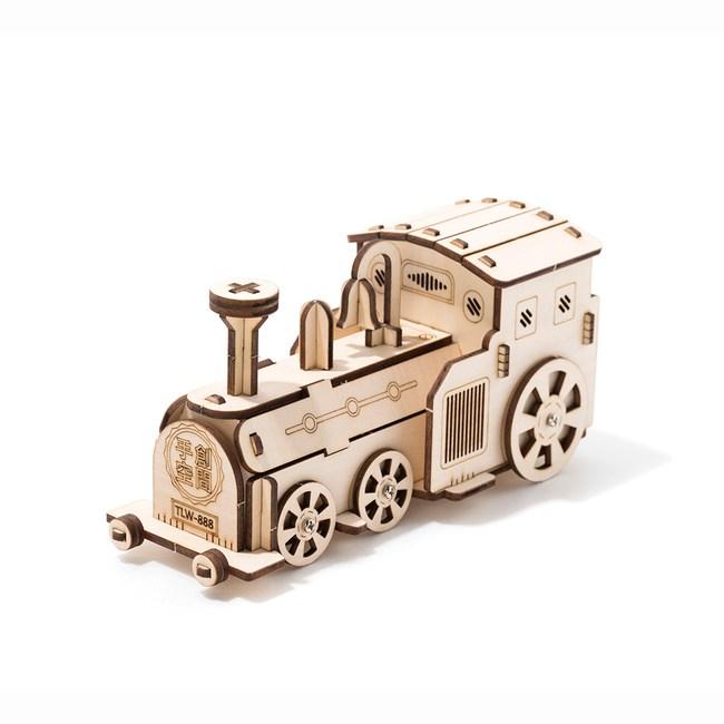 DIY材料包-復古火車存錢筒