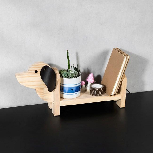 DIY材料包 臘腸狗置物架
