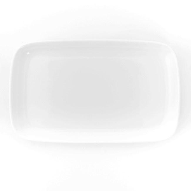 HOLA 雅堤長型小盤 16cm 可適用烤箱/微波爐/洗碗機