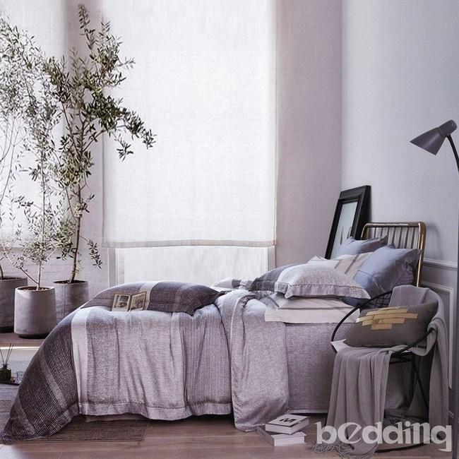 BEDDING-100%天絲三件式枕套床包組-迪亞(加大)