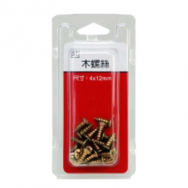 51木螺絲4x12mm