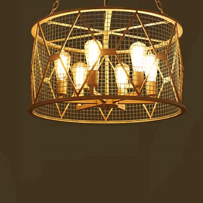 【obis】圓形鐵網吊燈(大號)